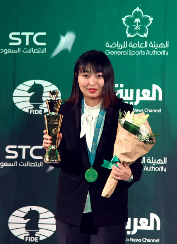 Ju Wenjun women world rapid champion riyadh 2018