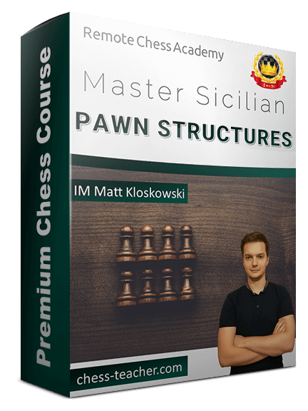 Master Sicilian pawn structures