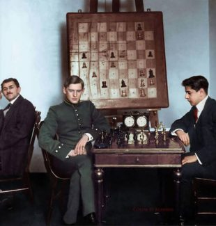 Capablanca vs Alekhine 1913