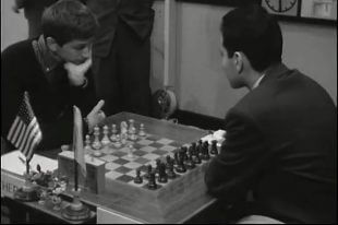 Bobby Fischer vs Mikhail Tal Candidates Chess 1959