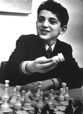 Garry Kasparov young kid
