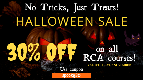 Remote Chess Academy Halloween Sale