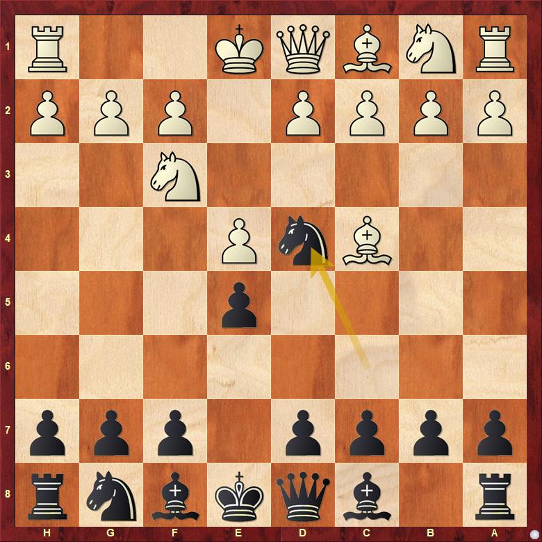 chess opening trap italian game