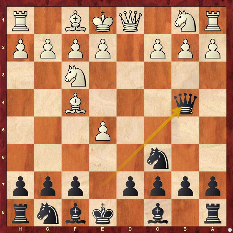 chess opening trap queen pawn opening