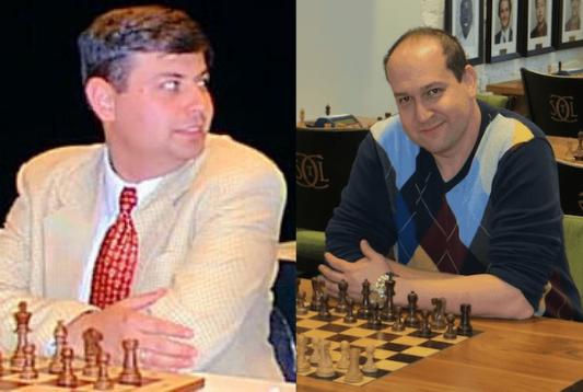 GM Boris Alterman and GM Ronen Har-Zvi