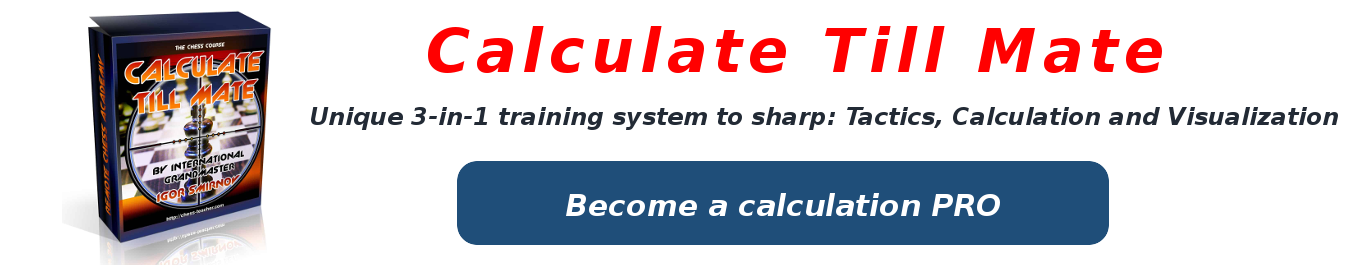 Calculate Till Mate chess course