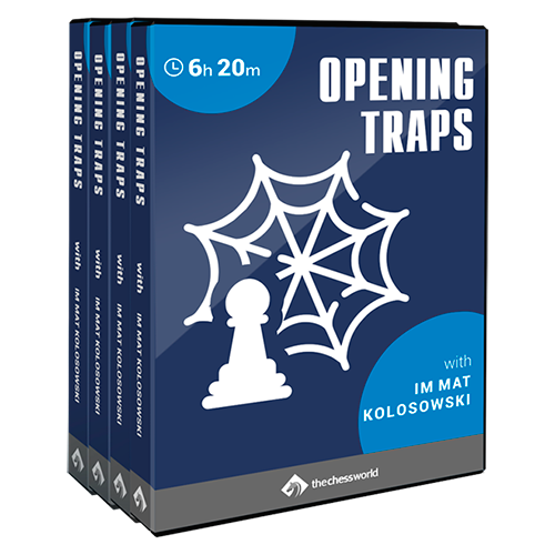 opening traps chess course