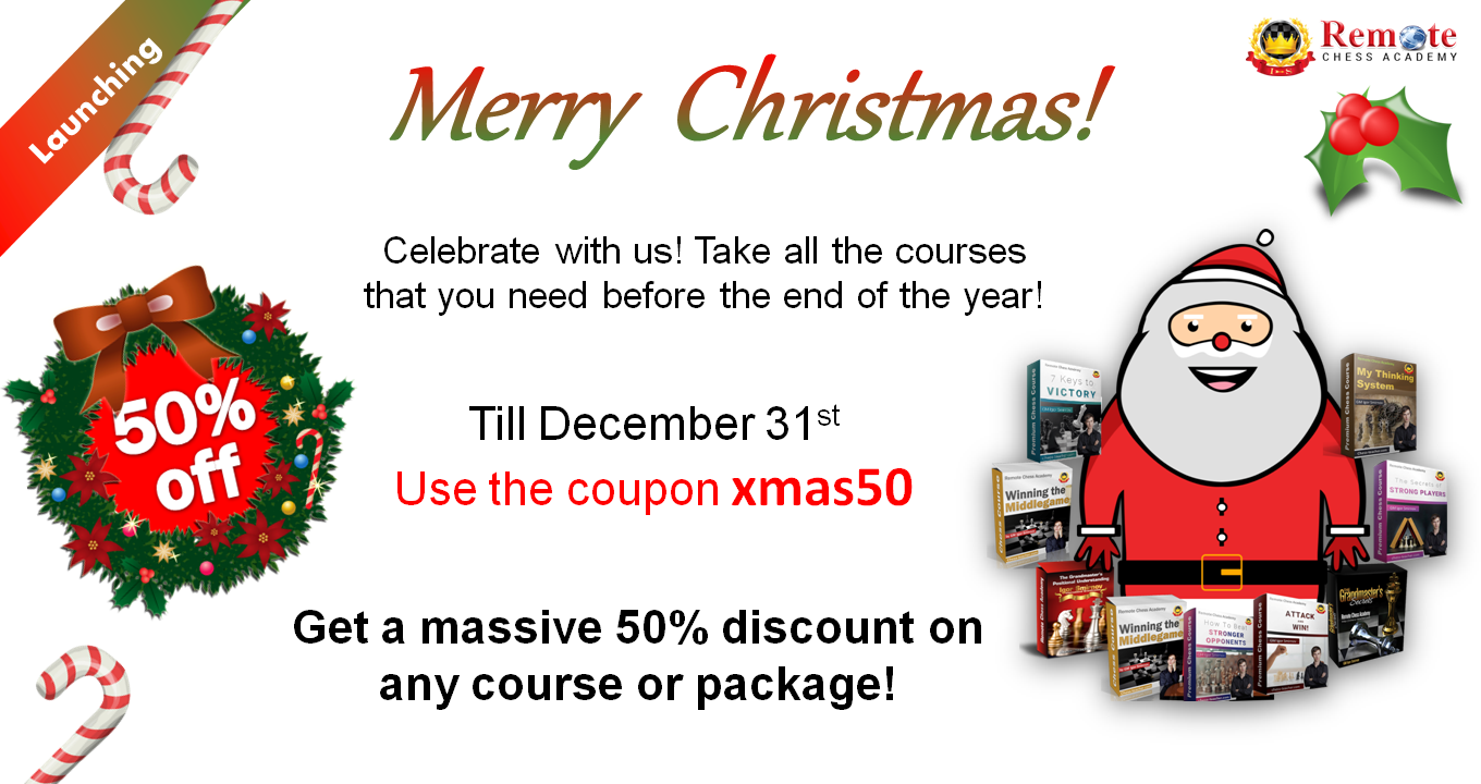 Remote Chess Academy Christmas Special Offers